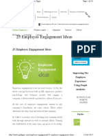 Employee Engagement 25 Employee Engageme