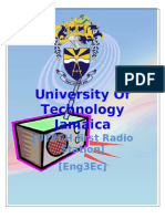University Of Technology Jamaica radio station proposal