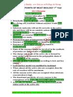 Key Points Biology-1