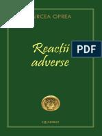 Mircea Oprea - Reactii Adverse