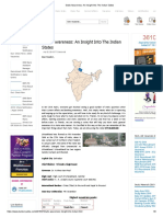 Static Awareness_ an Insight Into the Indian States