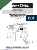 Foreuse Black& Decker KR650cre Manual