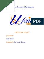 Ufone -HRM Print