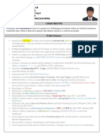 Resume Shashi Aspdotnet Azure Erp Crm
