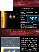 _My Ppt in Solar System
