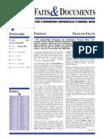 Faits et Documents 236