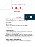 IELTS Speaking Test 19 (Work, Gifts, Talk About Your Favorite Photograph)