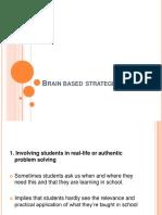 Brain Based and Organizer Chart