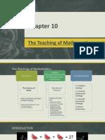 Chapter 10 Teaching Math