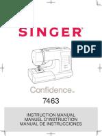 Singer Confidence 7463