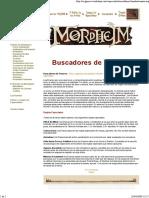 Banda de Enanos Buscadores de Tesoros Mordheim