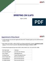 ILFS Briefing (April 2019)