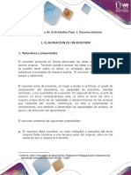 Anexo Guía de Actividades Unidad 1 - Paso 1 -Reconocimiento