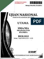 Biologi UN SMA 2015-2016 Www.sudutbaca.com