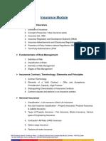 Insurance Module NSE Cirriculum
