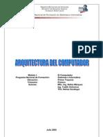 Arquitectura del Computador  Modulo I