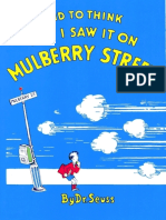 Seuss, Dr - And to Think that I Saw It on Mulberry Street.epub
