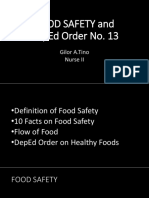Food Safety April