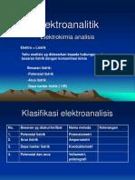Kuliah Elektro analitik