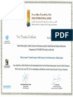12 | Dubai International Award Best practice certificate | Plaza Ecopolis | United Arab Emirates