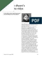 De zeven dhyani's in de gypta vidya