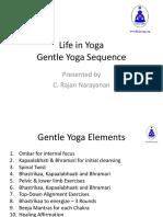 Gentle Yoga Slides