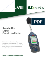 Casella Cel 630 Datasheet v2 PDF Us Version