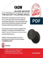 HSE confined space