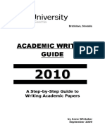 Academic Writing Complete Guide