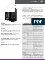 Product Sheet - MasterCase MC500