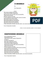 TRECHO   DO LIVRO  DA CHAPEUZINHO AMARELO PARA O SEMANÁRIO E PARA OS ALUNOS.doc