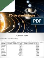 TD de Planétologie