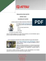 PREGUNTAS FRECUENTES MARZO 2019 CALDERAS DE VAPOR