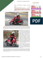 Honda Vision 110 - Sin Complejos - Moto 125 Cc