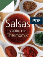 Salsas y Alinos Con Thermomix - Equipo Susaeta