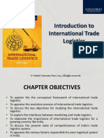 Chapter 1 Introduction to International Trade Logisitcs