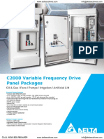 C2000 Variable Frequency Drive Panel Packages