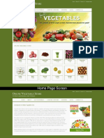 Online Vegetable Store Mini Java Project Screens