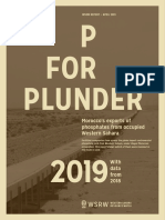P for Plunder - 2019 (with data from 2018)