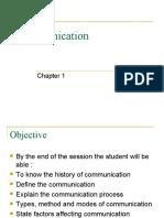 Communication Sem 1