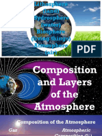 Composition and Layer of the Atmosphere