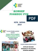 Konsep Posbindu Ptm Feb 2019