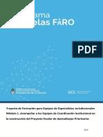 Escuelas Faro 2019