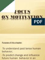 Focus on Motivation