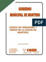 Código urbanismo Montero ABRIL 2007.pdf