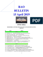 Bulletin 190415 (HTML Edition)