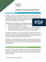 Programa Transversal de Tutoria TUOH