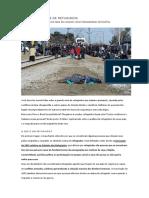 o Brasil e a Crise de Refugiados