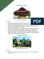 5 Rumah Adat Baileo, Honai, Tongkonan, Dll