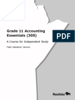 Gr11 Accounting Essentials